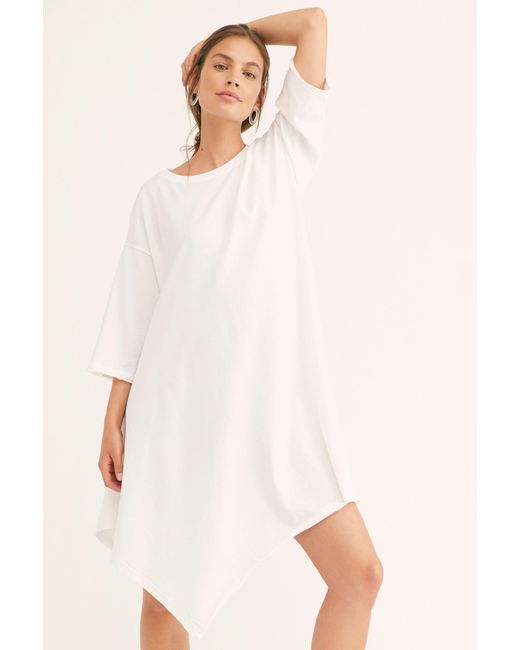 3988301282 ... Free People - White Kahana Tunic By Fp Beach - Lyst ...
