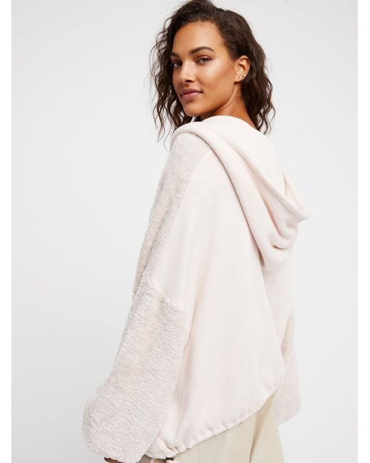 Free People | Multicolor Say You Don't Feel Me Hoodie | Lyst