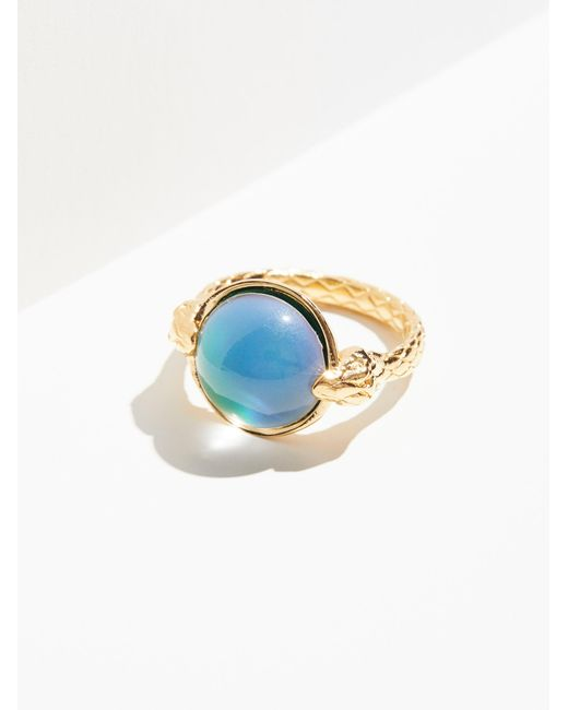 Free People | Metallic Moody Blues Mood Ring | Lyst