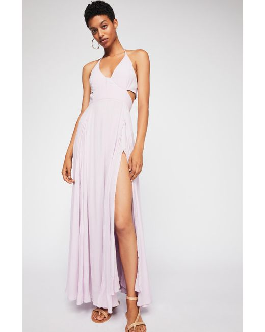 Free People - Purple Endless Summer By Lillie Maxi Dress - Lyst