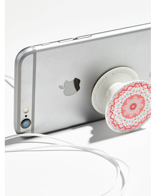 Free People - Gray Pop Socket Phone Mount - Lyst