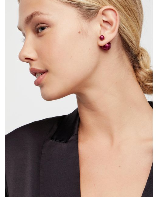 Free People | Natural Double Sided Orbit Studs | Lyst