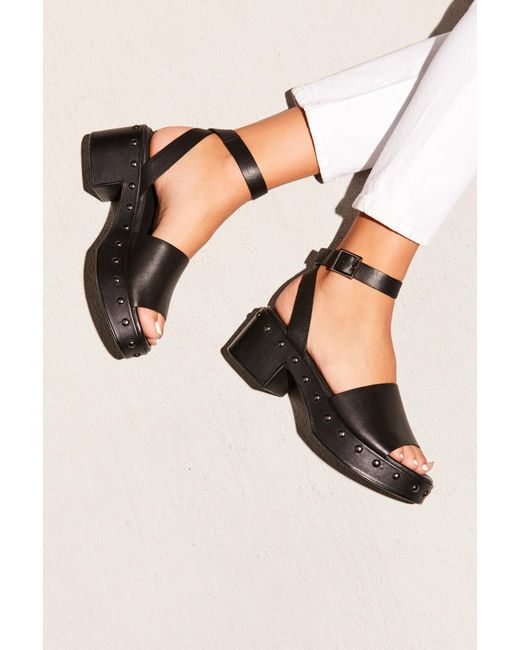7d7a8b8ea81 Free People - Black Stand By Me Platform Sandal By Seychelles - Lyst ...