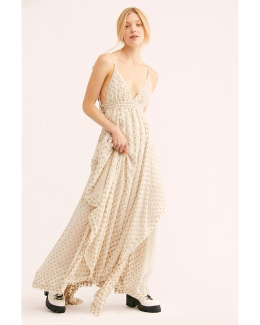 8f137791cde Free People - White Meredith Maxi Dress - Lyst ...