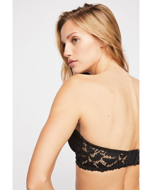 Free People - Black Love Letters Convertible Bra By Intimately - Lyst