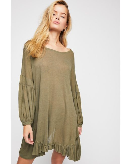 888152e72ef ... Free People - Green Riverside Tunic By Fp Beach - Lyst