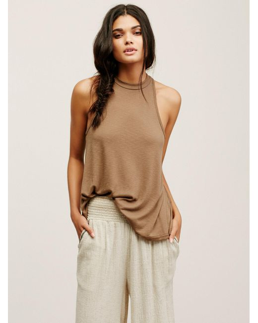 Free People | Multicolor Mock Me Tank | Lyst