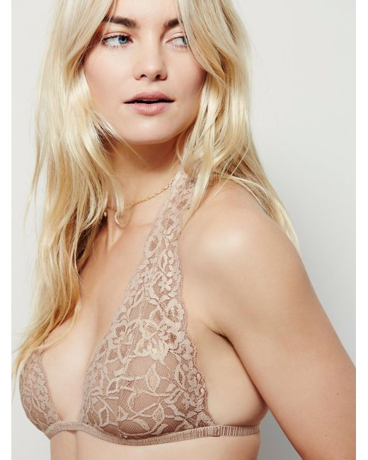 Free People | Natural Truly Madly Deeply Halter | Lyst