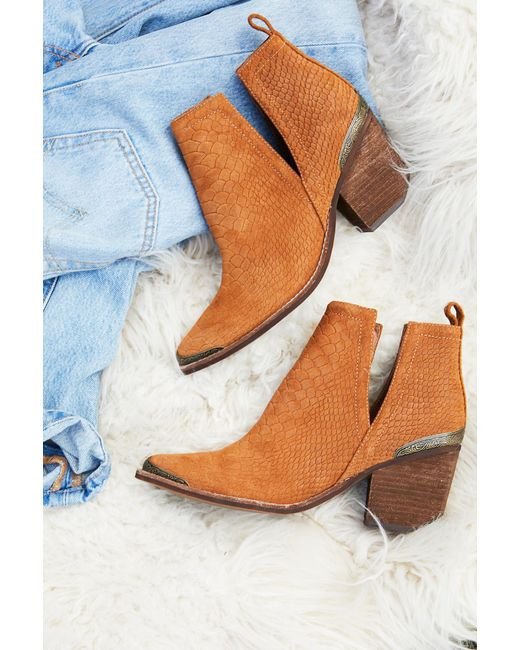 Free People - Multicolor Hunt The Plains Boot By Jeffrey Campbell - Lyst