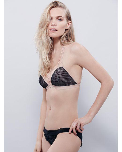 Free People - Black Essential Lace Bikini - Lyst