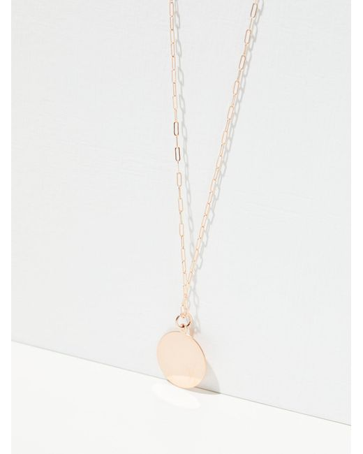 Free People   Metallic 14k Gold Cecile Necklace   Lyst