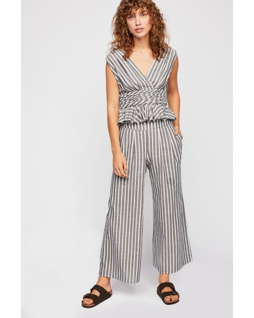 Free People - Multicolor Your Song Striped Co-ord - Lyst