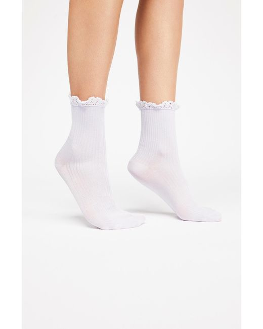 Free People - Multicolor Bryant Heather Ankle Sock - Lyst