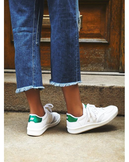 Free People | White Court Trainer | Lyst