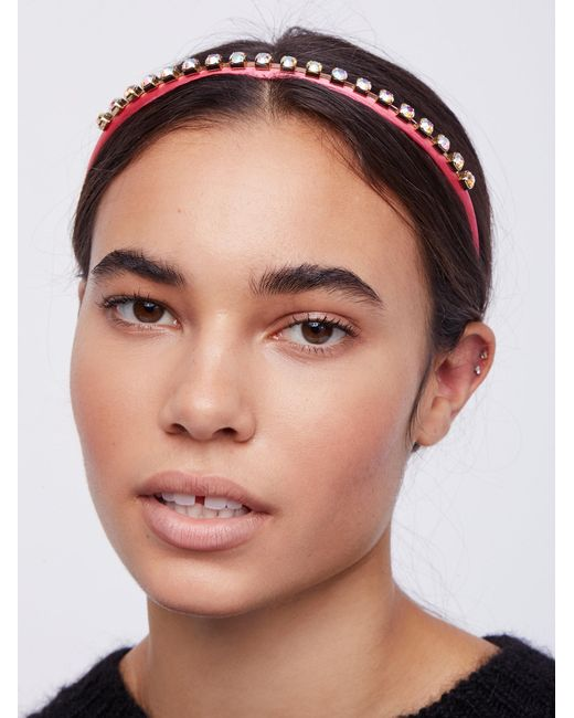 Free People | Pink Perfect Party Headband | Lyst