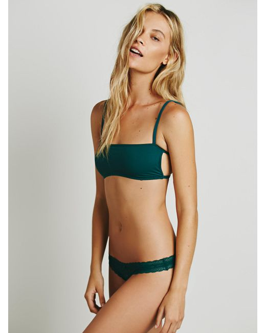 Free People | Green Dreams Come True Thong | Lyst
