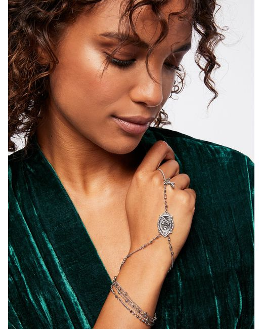 Free People | Multicolor Madrid Rosary Hand Wrap | Lyst