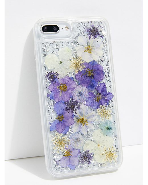 Free People - Multicolor Luxe Pressed Flower Phone Case - Lyst