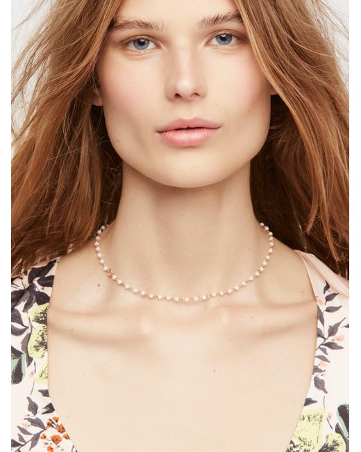Free People   Multicolor Essential Stone Necklace   Lyst