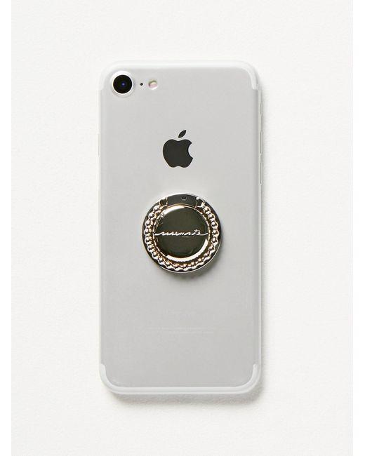 Free People - Metallic Ring Phone Grip - Lyst