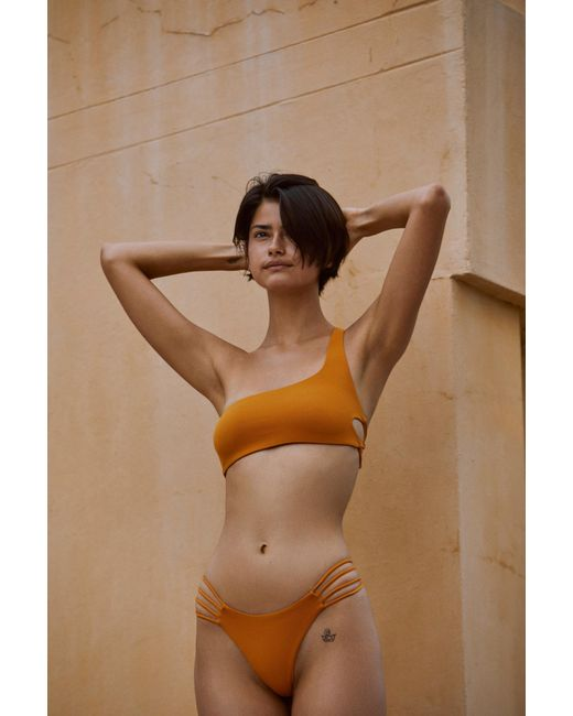 cbb1cae981875 ... Free People - Multicolor Rote Bikini Bottom By Stone Fox Swim - Lyst