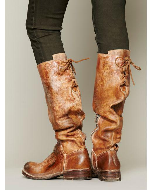 Bed Stu Women S Manchester Knee High Boot Black