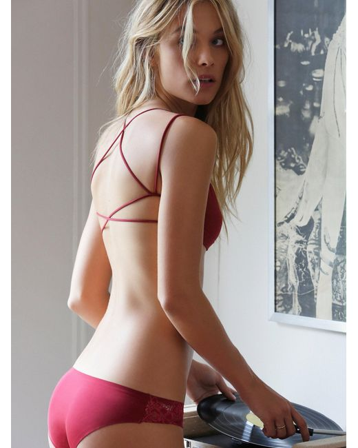 Free People | Red Sunkissed Strappy Back | Lyst