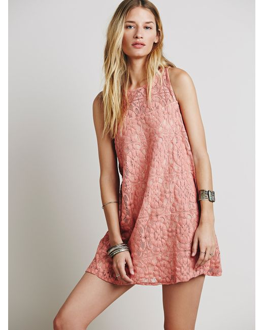 Free People   Multicolor Spring Date Dress   Lyst