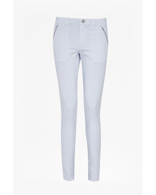 French Connection - White Lilly Skinny Jeans - Lyst