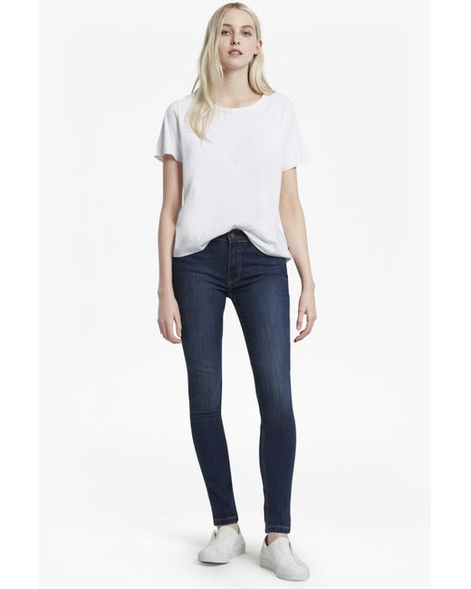 French Connection - Blue Rebound 32 Inch Leg Skinny Jeans - Lyst