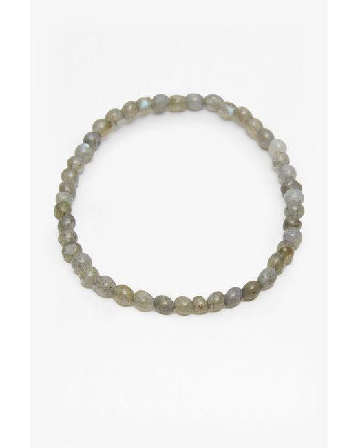 French Connection | Metallic Semi Precious Mini Bead Bracelet | Lyst