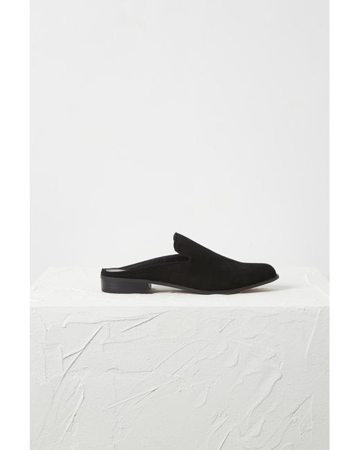 French Connection - Black Eliza Suede Loafer - Lyst
