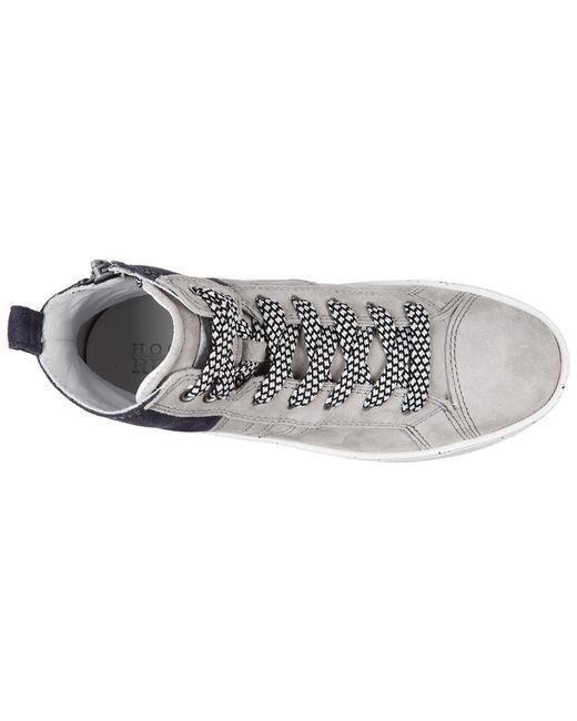 ... Hogan Rebel - Multicolor Boys Shoes Baby Child Sneakers Alte Camoscio  R141 Mid Cut Zip for ... 159b8cb2275