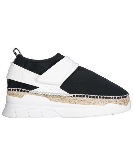 KENZO - Black Slip On Sneakers - Lyst