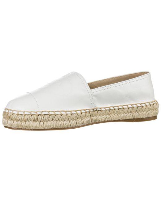 89c7a948ee1 ... Prada - White Espadrilles Slip On Shoes - Lyst ...