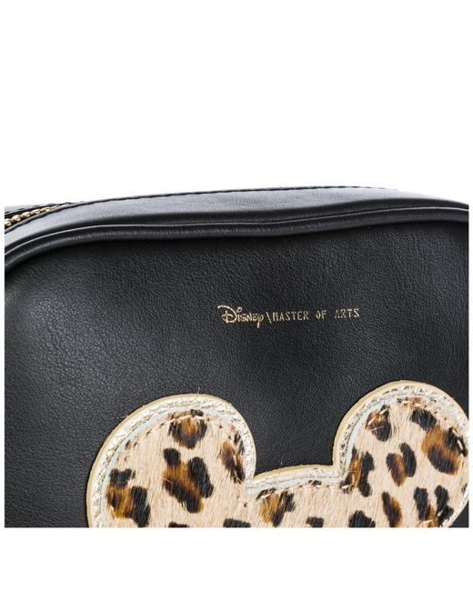 eb6a65e701cf ... MOA - Black Leather Belt Bum Bag Hip Pouch Disney Mickey Mouse - Lyst  ...