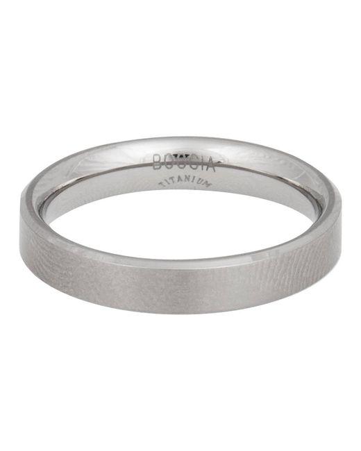 Boccia - Metallic Ring Reintitan 0121-03 for Men - Lyst