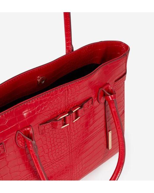 88f4d9f25b Lyst - Sac cabas Léa Galeries Lafayette en coloris Rouge