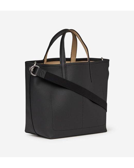 Anna Coloris Petit Sac Noir Shopping Lyst Lacoste En Nn0PkXO8w