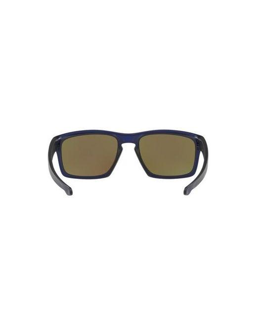 De Pour Sliver Homme En Soleil Lunettes Oo9262 Oakley Coloris Bleu hQrtdsC