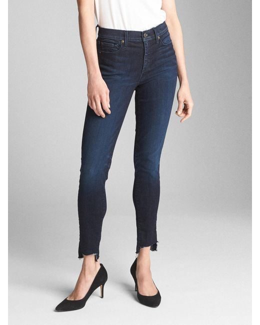 Gap - Blue Special Edition Mid Rise Favorite Jeggings - Lyst