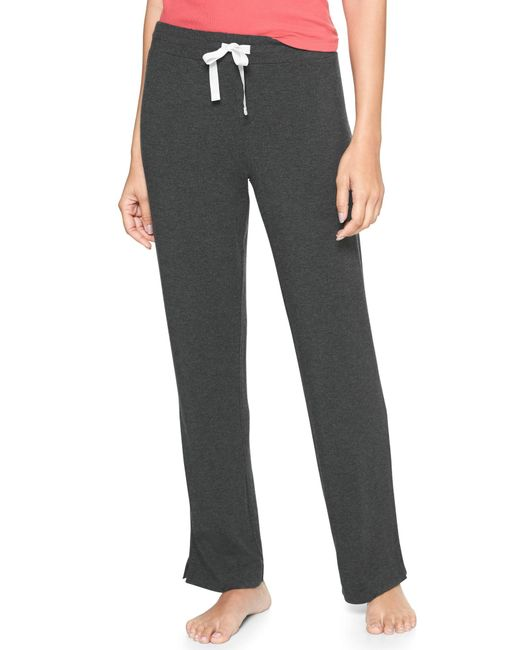GAP Factory - Gray Pure Body Pants In Modal - Lyst