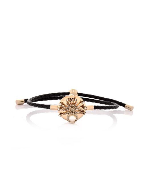 Alexander McQueen - New Spider Bracelet Black - Lyst