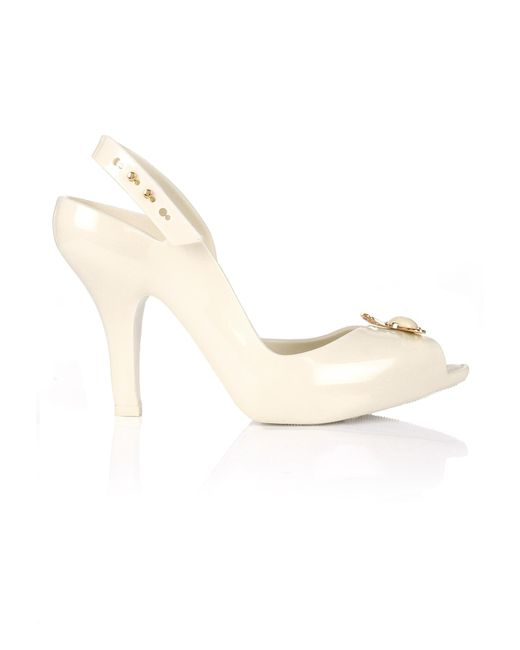 Vivienne Westwood | White Lady Dragon Shoes Ivory Pearl Orb | Lyst