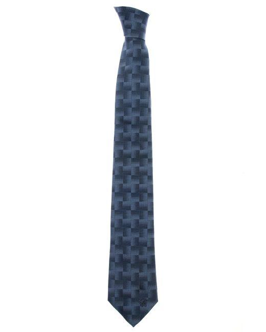 Versace | Medusa Geometric Tie Light Blue for Men | Lyst