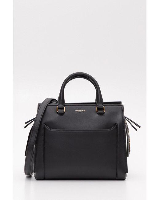 33da2322e4b2 Saint Laurent - Black East Side Small Tote Bag - Lyst ...