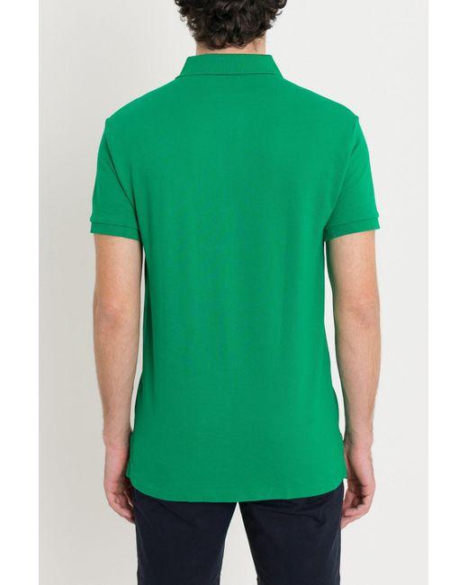 d98d8aaff83 ... Polo Ralph Lauren - Green Polo Shirt for Men - Lyst ...