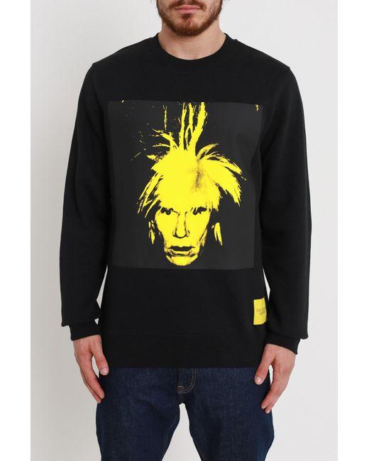 Calvin Klein - Multicolor Warhol Portrait Sweatshirt for Men - Lyst