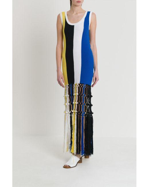 a3d10c466f68 Sonia Rykiel Dress Women in Blue - Save 28% - Lyst