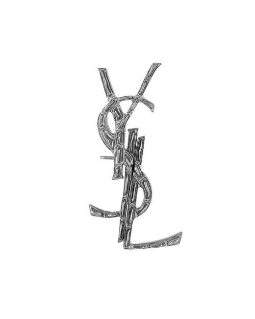 Saint Laurent - Multicolor Signature Earrings - Lyst
